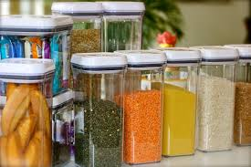 spice jars 4plates2table airtight containers for pantry non perishables