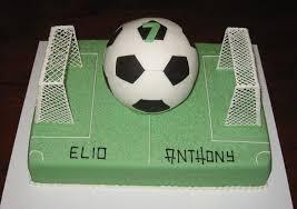 football cake 7th birthday football cake
