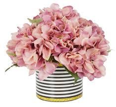 hydrangea bouquet hydrangea bouquet floral arrangement in striped pot reviews