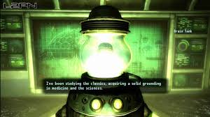 fallout new vegas the courier u0027s brain old world blues youtube