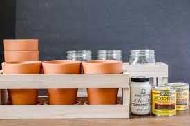 how to create a wood crate flower centerpiece hearth u0026 vine