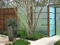Modern Fence by Modern Fence Ideas For Dogs Modern Fence Ideas For Landscaping