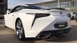lexus lc 500 news and lexus lc 500 exhaust sound revving and start up youtube