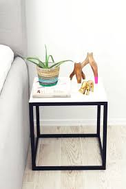 Nightstand Size Casual Design And Black Color Building A Nightstand Plus Modern