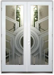 all glass front door double entry doors sans soucie art glass