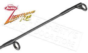 berkley lightning rod medium light berkley lightning rod spinning rods 5 6 to 6 6 bslr al