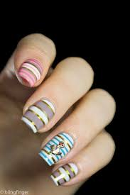 23 golden striped nail designs you must see pinkous