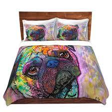 Dog Duvet Covers Dianochedesigns Pug Love Dog Duvet Set U0026 Reviews Wayfair