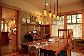 my own house craftsman dining room new york by hoffman