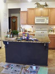 painted islands for kitchens kitchen diy painting kitchen cabinets ideas pictures from hgtv
