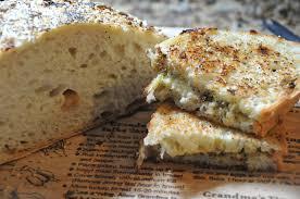 Garlic Bread In Toaster No Knead Roasted Garlic Bread Hungry Gnomes