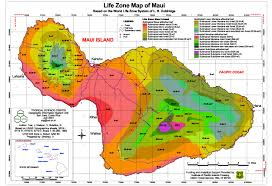 Usda Zone Map Maui Life Zone Map Maui Real Estate