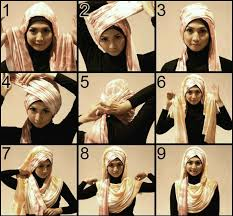 video tutorial turban style lots of going on hijab style if you fancy turban style hijab