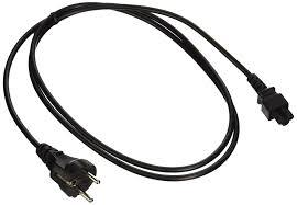 amazon com cablewholesale 6 feet polarized european power cord