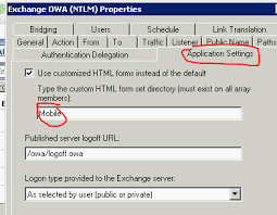 a mobile friendly tmg forms based fba login for exchange owa