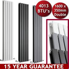 vertical central heating flat panel designer radiators tall