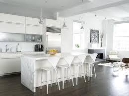 white modern bar stools for kitchen island white modern bar
