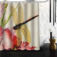 Dragonfly Shower Curtains Buy Dragonfly Curtains And Get Free Shipping On Aliexpress