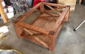 How To Make A Concrete Table by How To Make A Concrete Coffee Table With A Trowel Finish