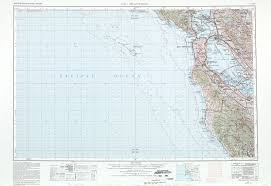 San Francisco Topographic Map by San Francisco Topographic Map Sheet United States 1980 Full Size
