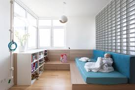 Kids Room Furniture For Two Two Modern Homes With Rooms For Small Children With Floor Plans