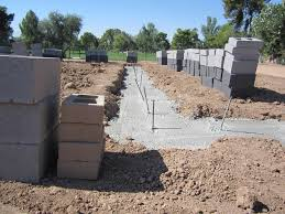 concrete block house masonry stem walls darrin gray corp