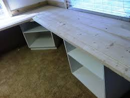 Building An L Shaped Desk Diy L Shaped Desk Plans Deboto Home Design Diy L
