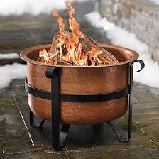 Copper Firepits Grandin Road Stowe Copper Pit 299 Best Pits For