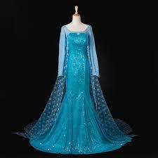 Elsa Halloween Costume Frozen Elsa Frozen Dress Princess Anna Elsa Costumes