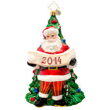 2014 dated ornaments rainforest islands ferry