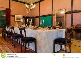 historical western style dining room in japan editorial stock