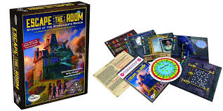 escape the room in your home with the official board game the