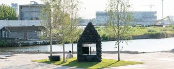 3d printed urban cabin by dus architects