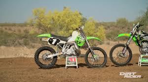 4 stroke motocross bikes kawasaki kx500 2 stroke vs kx450f 4 stroke video dailymotion