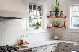 white kitchen cabinets with hexagon backsplash white hexagon kitchen backsplash kitchen backsplash
