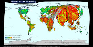 Global Incident Map Global Water Insecurity Views Of The World