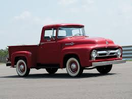 Old Ford Truck Toddler Bed - 1956 ford f 100 custom cab pickup ford trucks pinterest ford