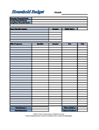 business budget template download create edit fill and print