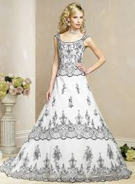two color wedding dress color or white