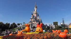 disneyland paris halloween decorations main street including