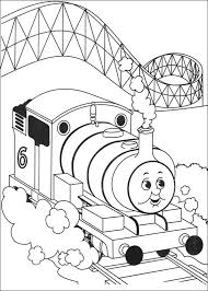 thomas friends coloring pages toby coloringstar