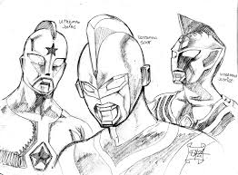 ultraman nexus colouring pages coloring pages