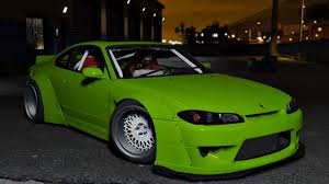 nissan silvia s15 nissan silvia s15 rocket bunny add on replace gta5 mods com