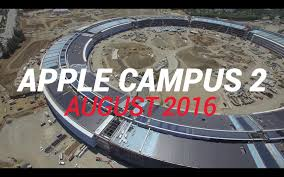 video apple 2 campus headed toward completion archdaily