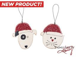 designer cat ornaments 4 pack coupaw