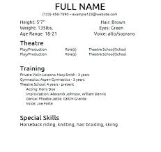 acting resume template google docs inssite musical resume template write essay for you