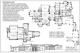floor plans 7 501 sq ft to 10 000 sq ft planos de casas en