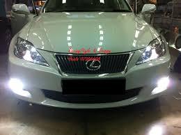 lexus xenon headlights lexus is250 with 8000k hid on fog light and headlight