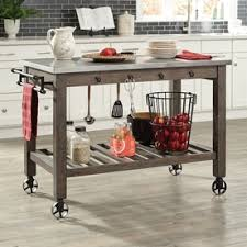 portable kitchen island shop kitchen islands carts at lowes com