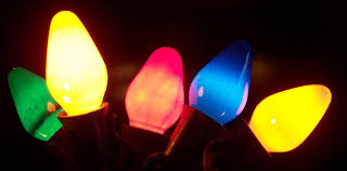 incandescent and led lights tree market